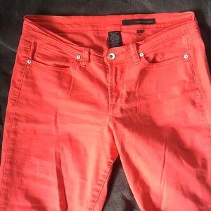 Calvin Klein red jeans